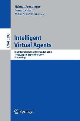 Intelligent Virtual Agents: 8th International Conference