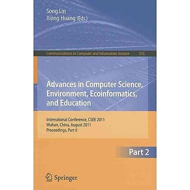 Advances in Computer Science, Environment, Ecoinformatics
