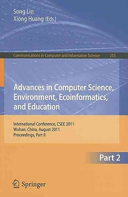 Advances in Computer Science, Environment, Ecoinformatics