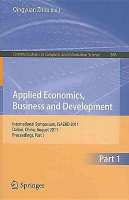 Applied Economics, Business and Development: International Symposium