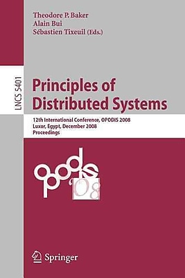 Principles of Distributed Systems 12th International Conference
