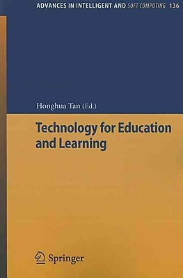 Technology for Education and Learning (Advances in Intelligent and Soft Computing)