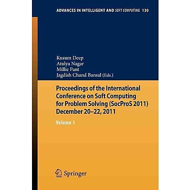 Proceedings of the International Conference on Soft Computing for Problem Solving