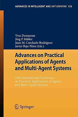 Advances on Practical Applications of Agents and Multi-Agent Systems