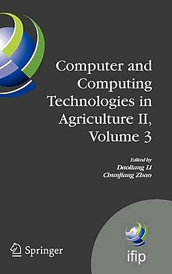Computer and Computing Technologies in Agriculture II, Volume 3
