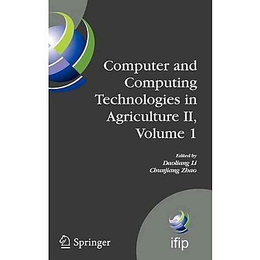 Computer and Computing Technologies in Agriculture II, Volume 1