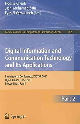 Digital Information and Communication Technology and Its Applications (Paperback)