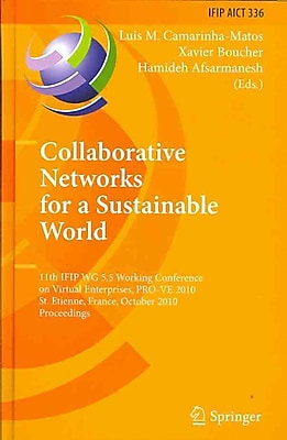 Collaborative Networks for a Sustainable World: