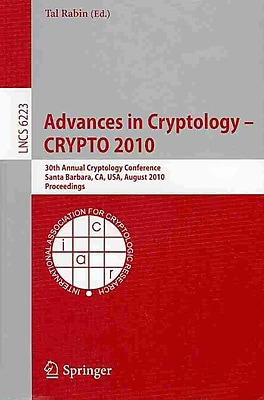 Advances in Cryptology 2010
