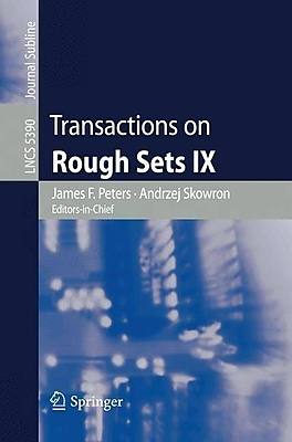 Transactions on Rough Sets IX