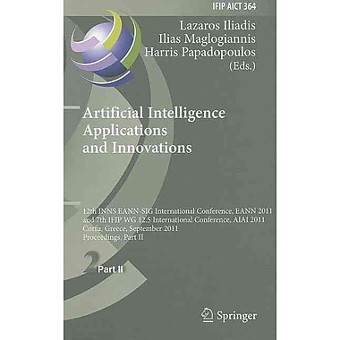 Artificial Intelligence Applications and Innovations (Hardcover)