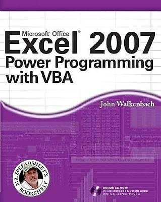 Excel 2007 Power Programming with VBA John Walkenbach