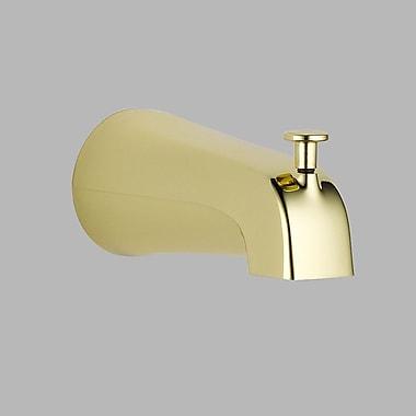 Delta Wall Mount Tub Spout Trim; Brilliance Polished Brass