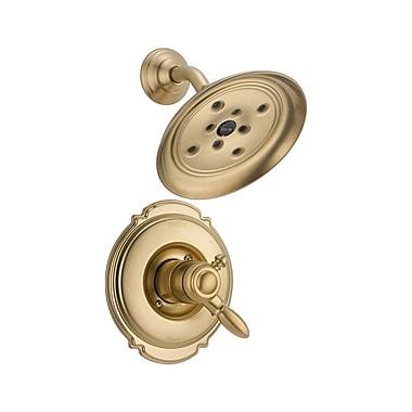 Delta Victorian Monitor 17 Series Shower Faucet Trim w/ Lever Handles; Brilliance Champagne Bronze