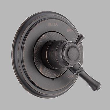 Delta Cassidy Dual Control Faucet Trim w/ Lever Handles; Venetian Bronze