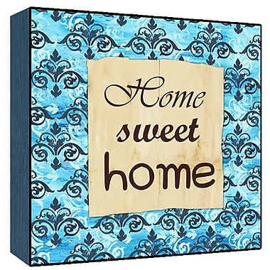 Green Leaf Art Home Sweet Home Graphic Art; 24'' H x 24'' W x 1.5'' D