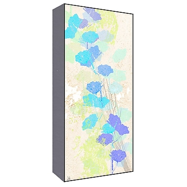 Green Leaf Art Floral Lavander II Painting Print; 20'' H x 10'' W x 1.5'' D