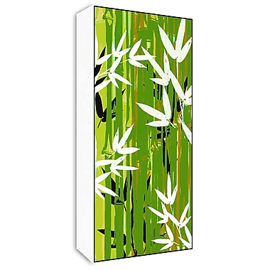 Green Leaf Art Bamboo Stems II Graphic Art; 20'' H x 10'' W x 1.5'' D