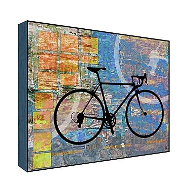 Green Leaf Art His Bicycle Graphic Art; 22'' H x 28'' W x 1.5'' D