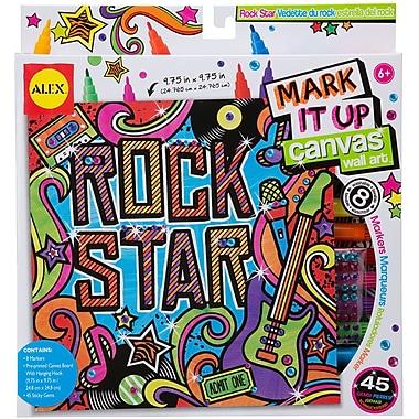 Alex Toys® Mark It Up Canvas Wall Art, Rock Star
