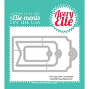 Avery® Elle-Ments Steel Die, Gift Tags