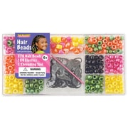 Beadery® Large Hair Bead Kit, Bright Pearl
