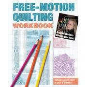 """C&T Publishing """"Free-Motion Quilting Workbook: Angela Walters Shows You How!"""" Paperback Book"""