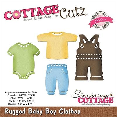 CottageCutz® Elites Steel Die, Rugged Baby Boy Clothes