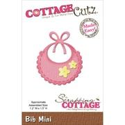 """CottageCutz® 1.2"""" x 1.5"""" Mini Steel Die, Bib"""