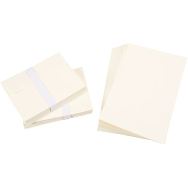 Darice 110370 Ivory Blank Cards and Envelopes, 5.5
