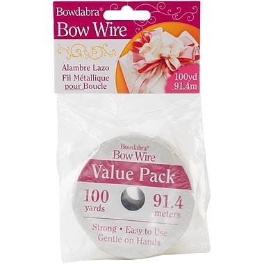 Darice BOW3050 Bowdabra Gold Bow Wire, 100 yd.