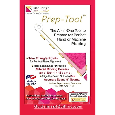 Guidelines4quilting GL-PT Multicolor Prep-Tool, 10