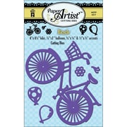 Hot Off The Press Paper Artist Cutting Die, Bicycle