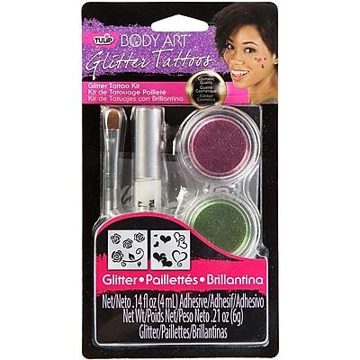 I Love To Create® Tulip® Body Art® Glitter Tattoo Kit, Pink