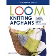 "Macmillan Publishers ""Loom Knitting Afghans"" Paperback Book"