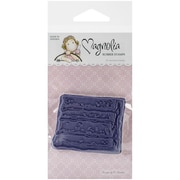 "Magnolia 5 1/2"" x 2 1/2"" A Little Yummy For Your Tummy Cling Stamps"