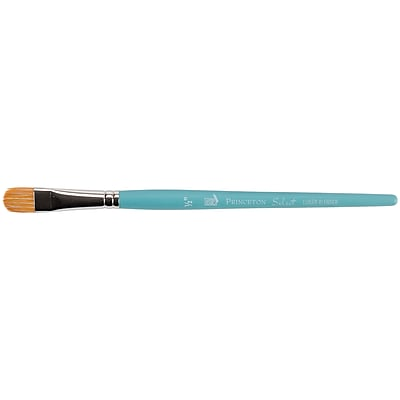 Princeton Art & Brush LB-050 Blue Bristle and Synthetic Lunar Blender Brush, 5.25