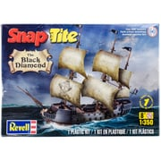 Revell® SnapTite® Plastic Model Kit, Black Diamond Pirate Ship 1: 350