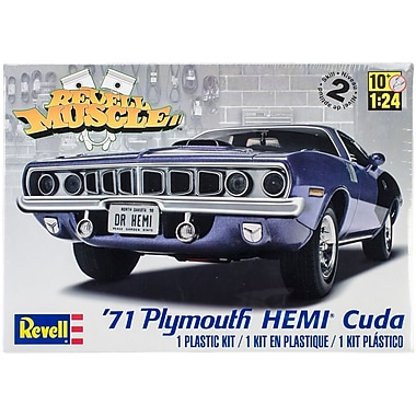 Revell® Plastic Model Kit, '71 Plymouth Hemi 'Cuda Hardtop 1:25