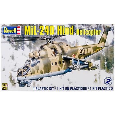 Revell® Plastic Model Kit, Mil-24 Hind Helicopter 1:48