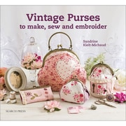 """Search Press """"Vintage Purses to Make, Sew & Embroider"""" Paperback Book"""