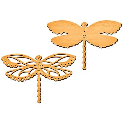 Spellbinders S2092 Orange Shape abilities Dragon Delight D-Lites Die Template, 2.5