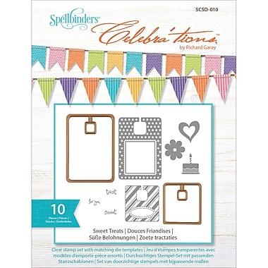 Spellbinders® Celebra'tions Die Template Set With Stamps, Sweet Treats