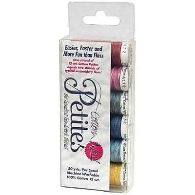 Sulky® Sampler 12 Weight Cotton Petites, Most Popular Blendables Assortment