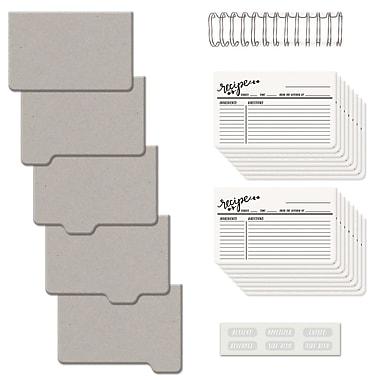 We R Memory Keepers® Cinch Recipe Book Kit, 6