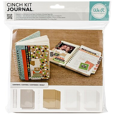 We R Memory Keepers® Cinch Journal Kit, 8