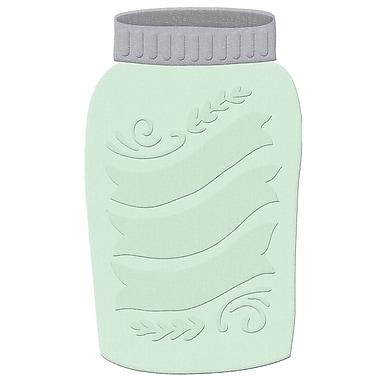We R Memory Keepers 038047 Multicolor Lifestyle Shape Die Mason Jar, 3.7