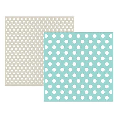 We R Memory Keepers LEF6-3709 Goosebumpz Green Polka Dot Embossing Folders, 6