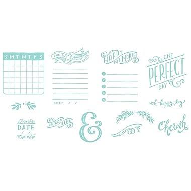 We R Memory Keepers LLPP-3745 Lifestyle Letterpress Journaling Printing Plate, 6.5