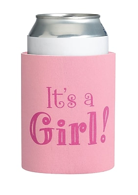 Lillian Rose Neoprene It's a Girl Cup Cozy 1173795